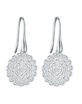 Filigree Hook Earrings (E5921)