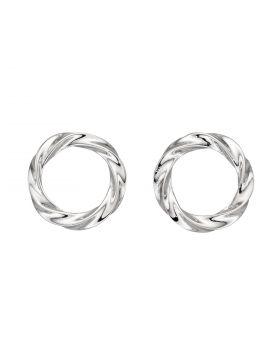 Organic Circle Earrings (E5932)