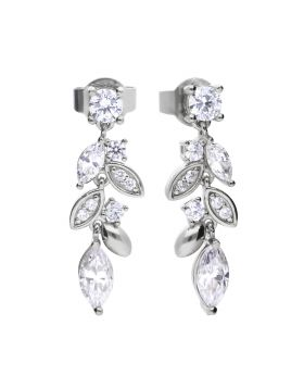Marquise and Multi-Stone Style Drop Earrings (E5983)