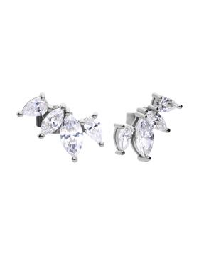 Marquise Crawler Earrings (E5984)