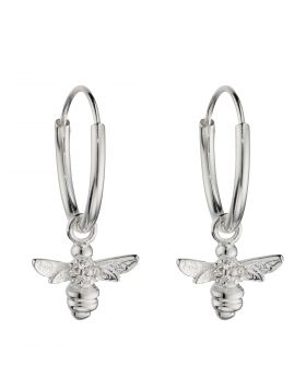 Bee Assembled Hoop Earrings (E5990C)