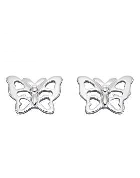 Butterfly Stud Earrings (E6051)