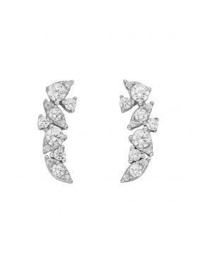 Diamonfire Zirconia Cluster Earrings (E6066)