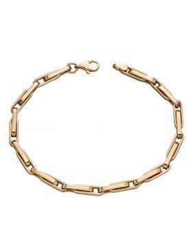 Long Links Bracelet in Yellow Gold (GB485)