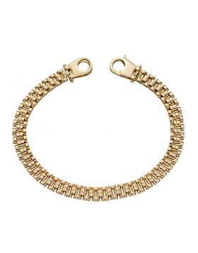 Watch Strap Bracelet in Yellow Gold (GB486)