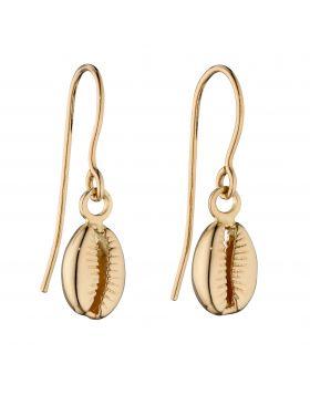 Cowrie Shell Drop Earrings (GE2375)
