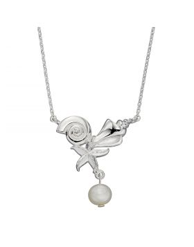 Shell, Starfish and Pearl Necklace (N4410W)