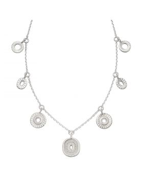 Bali Style Charm Necklace (N4411)