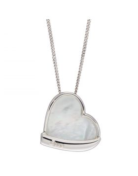 Heart Pendant with Mother of Pearl Centre (P5027C)