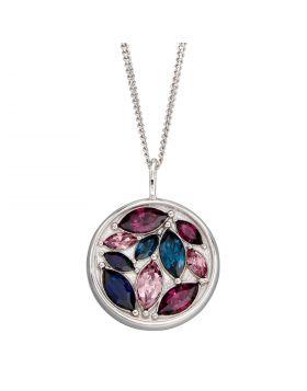 Navette Crystal Mosaic Pendant (P5036)