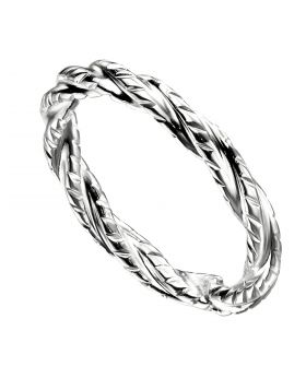 Twisted Band Ring (R3728)