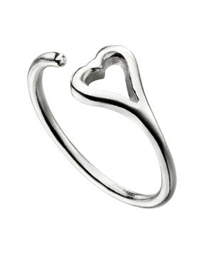 Open Heart Toe Ring (R3739)