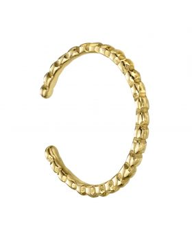 Gold Plated Ball Toe Ring (R3743)