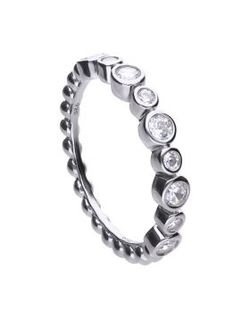 Rubover Eternity Ring with Diamonfire Cubic Zirconia (R3747)