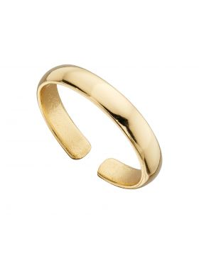 Yellow Gold Plated Toe Ring (R3778)