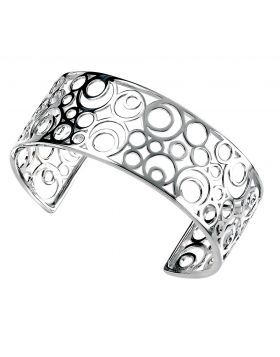 Open Disc Cluster Bangle