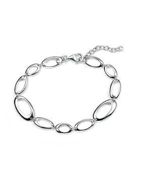 Open Oval Link Bracelet