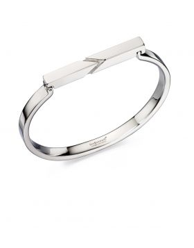 Etched Bar Bangle
