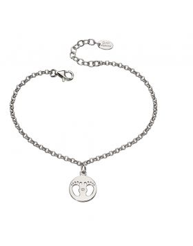 B4945 DIAMOND Footprint Charm BRAC