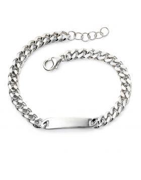 Childrens ID bar bracelet
