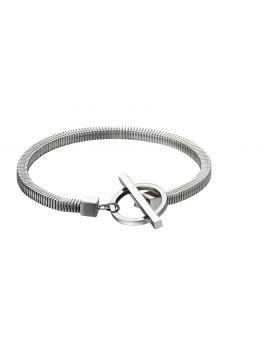 T Bar Stainless Steel Bracelet