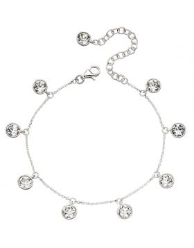 Multi Drop Crystal Bracelet B5172C
