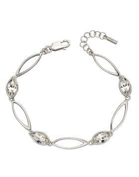 Crystal Navette Twist Bracelet (B5212C)