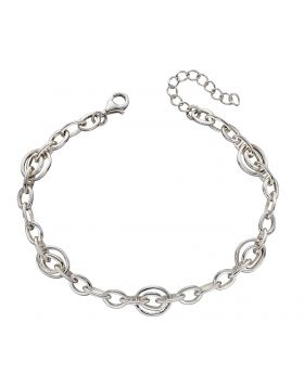 Organic Double Link Bracelet (B5233)
