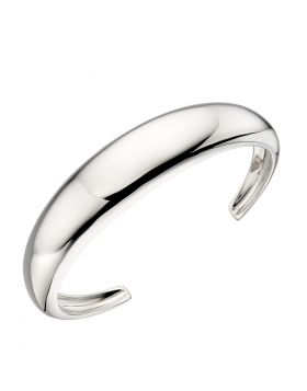 Organic Statement Silver Cuff (B5250)