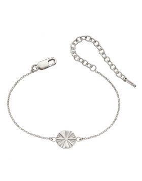 Diamond Cut Bevelled Bracelet (B5256)