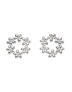 Flower Garland Stud Earrings (E5843)
