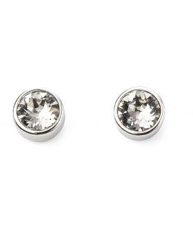 April Birthstone Stud Earrings