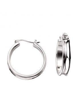 E5178 Concave Hoop EARRING
