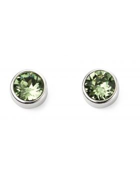 August Birthstone Stud Earrings