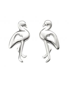 Cut Out Flamingo Earrings