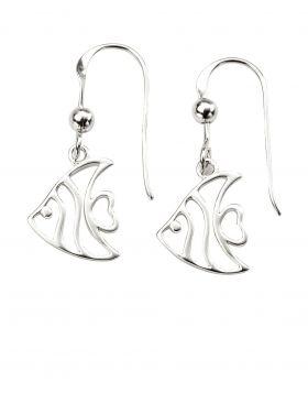 Cut Out Angel Fish Earrings