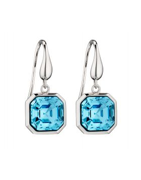 Imperial Cut Earrings in Aquamarine (E5812T)
