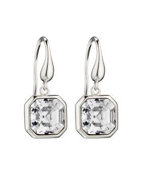 Imperial Cut Earrings in Crystal (E5813C)