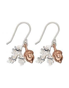 Rose Gold Acorn Earrings (E5817)