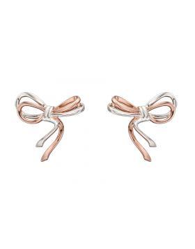 Mixed Plate Ribbon Earrings (E5826)