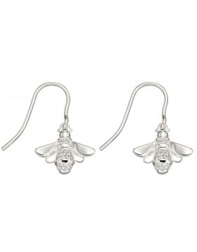 Cubic Zirconia Bee Earrings (E5830C)