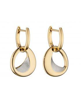 Assembled Hoop Gold Earrings (E5835)