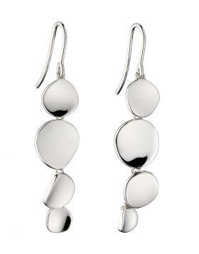 Organic Silver Earrings (E5836)