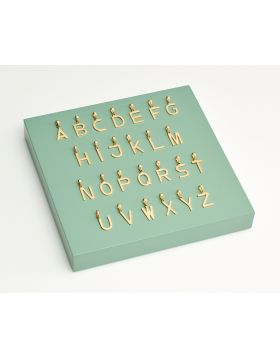 Gold Alphabet Kit (GZ1291)