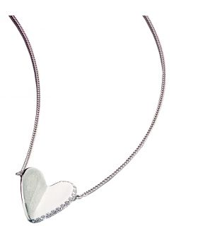 Pavee heart necklace