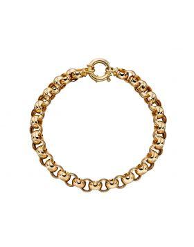 Yellow Gold Link Bracelet (GB466)