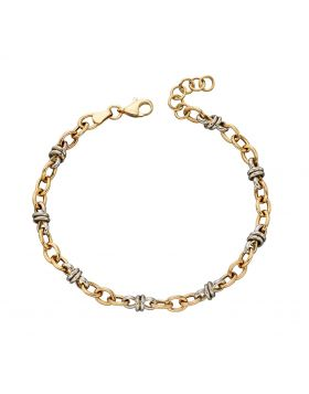 Multi Gold Link Bracelet (GB468)