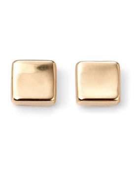 GE2071 9ct YELLOW Square Stud EARR