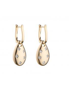 Starburst Set Diamond Earrings (GE2299)