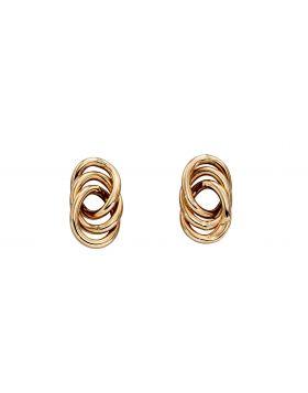 Interlinked Circle Stud Earrings (GE2312)